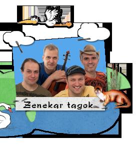 Zenekar tagok