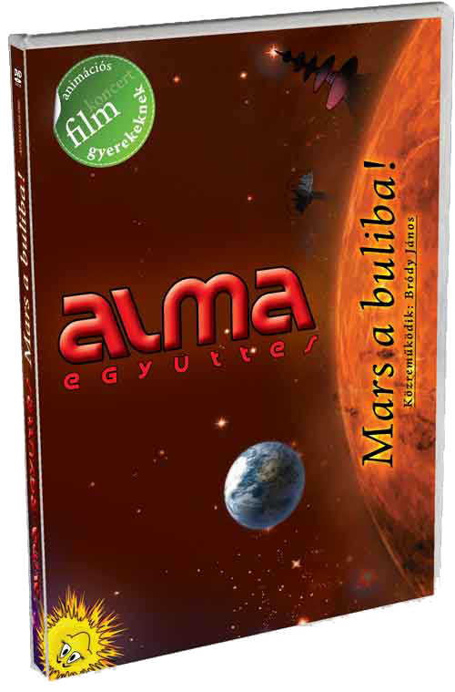 MARS A BULIBA! - animációs koncert DVD+CD (2009)