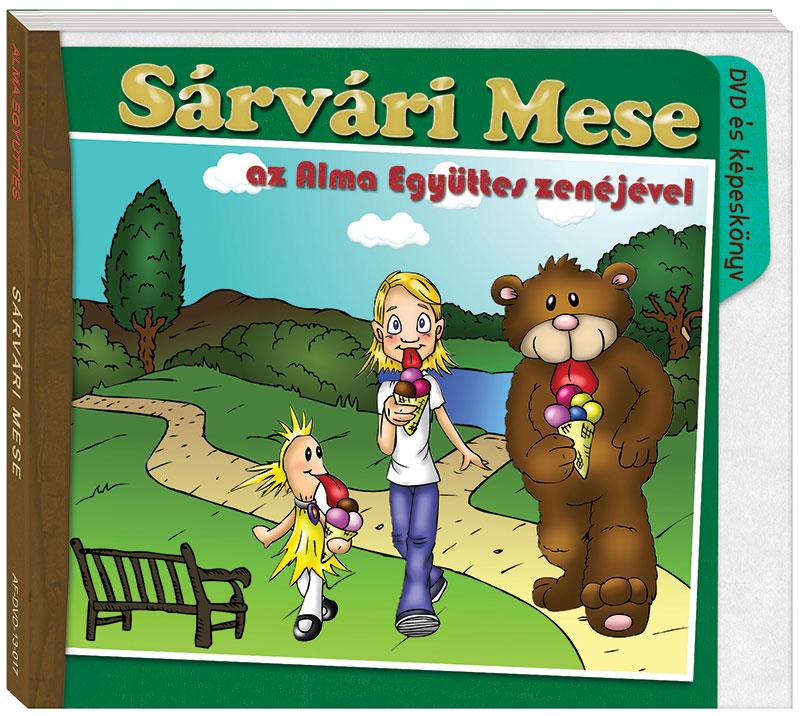 Sárvári mese (2013) DVD+mesekönyv